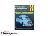 Haynes Beetle & Karmann Ghia manual